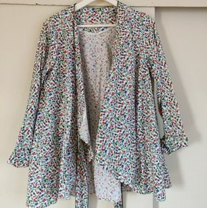 Ukrainian designer kimono shirt